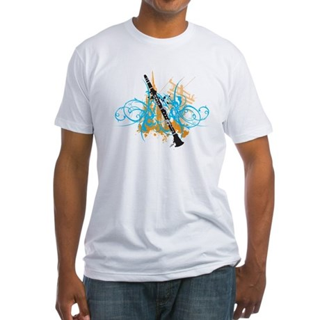 Urban Clarinet Fitted T-Shirt