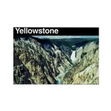 Yellowstone NP Rectangle Magnet (100 pack)