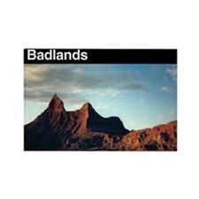 Badlands NP Rectangle Magnet (100 pack)