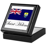 Saint Helena - Flag Keepsake Box