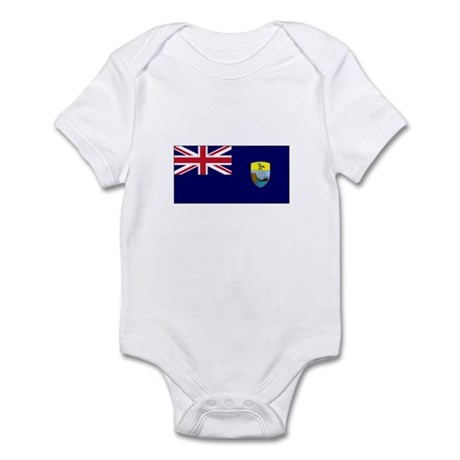 St. Helena Flag Infant Bodysuit