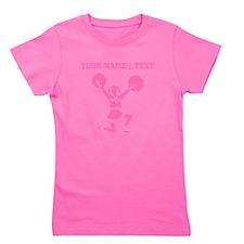 Pink Cheerleader (Custom) Girl's Tee