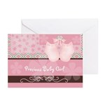 Precious Baby Girl Greeting Cards (Pk of 10)