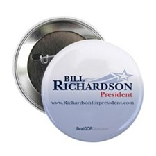 """Bill Richardson 2008"" 2.25"" Button (10)"