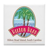 Hilton Head Palms - Tile Coaster