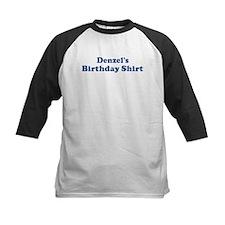 Denzel birthday shirt Tee