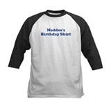 Maddox birthday shirt Tee