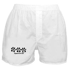 Black DOG Boxer Shorts