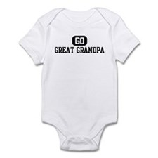 Go GREAT GRANDPA Infant Bodysuit
