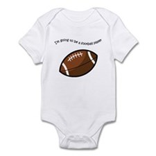 BabyBumpz Football Player Infant Bodysuit