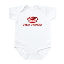 Dorkiest GREAT GRANDPA Infant Bodysuit