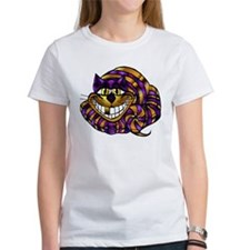 Golden Cheshire Cat Tee