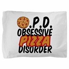 Funny Pizza Pillow Sham