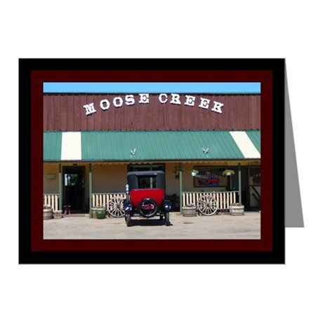 Moose Creek Antique Car Note Cards (Pk of 10)