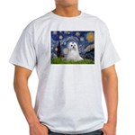 Starry Night & Maltese Light T-Shirt
