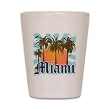 Miami Florida Souvenir Shot Glass