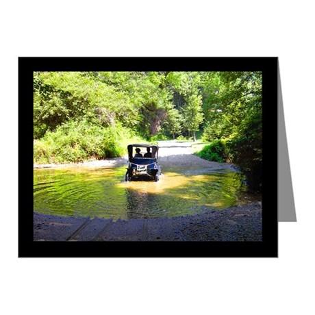 Just Married Antique Car Note Cards (Pk of 20)