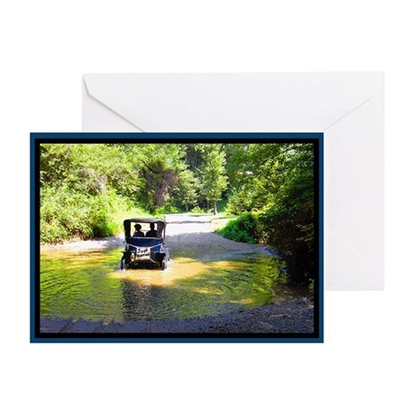 Just Married Antique Car Greeting Cards (Pk of 20)