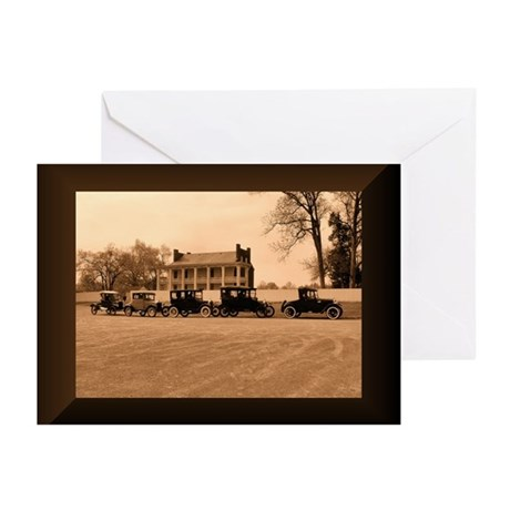 Pretty Antique Cars Greeting Cards (Pk of 20)