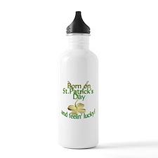 St. Patrick's Day Birt Water Bottle