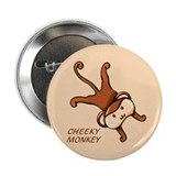 Cheeky Monkey Button