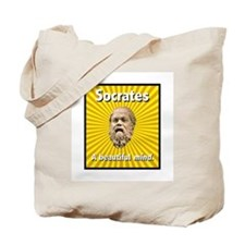 Socrates' Beautiful Mind Tote Bag
