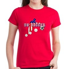 US Soccer Player Tee