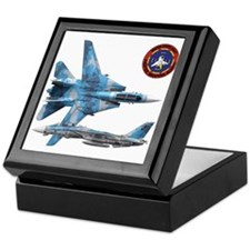 US Navy Fighter Weapons Schoo Keepsake Box
