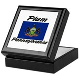 Plum Pennsylvania Keepsake Box