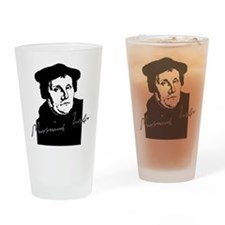 Martin Luther Bust and Signature Drinking Glass