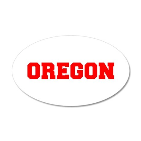 OREGON-Fre red 600 Wall Decal