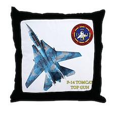US Navy Fighter Weapons Schoo Throw Pillow