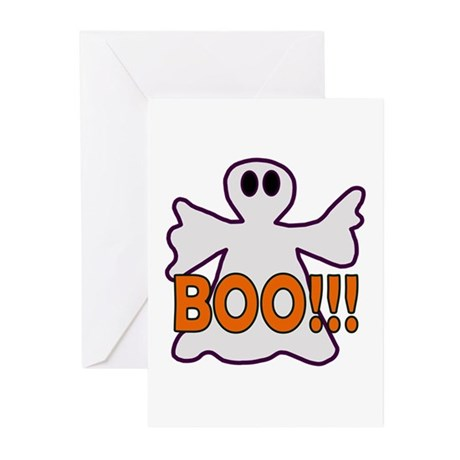 Boo Halloween Ghost Greeting Cards (Pk of 10)