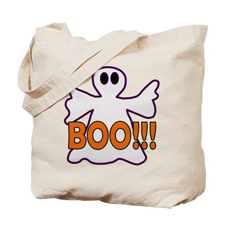 Boo Halloween Ghost Tote Bag