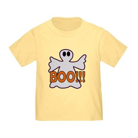 Boo Halloween Ghost Toddler T-Shirt