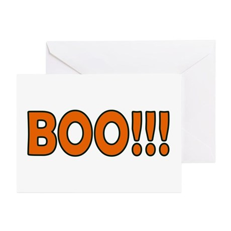 Boo Halloween Greeting Cards (Pk of 10)
