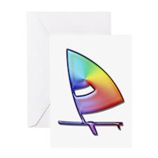 Windsurfer, Big Greeting Card