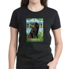 Newfie in the Birches Tee