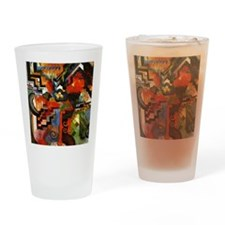 Macke - Colored Composition Drinking Glass