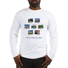 Seven Wonders World Long Sleeve T-Shirt