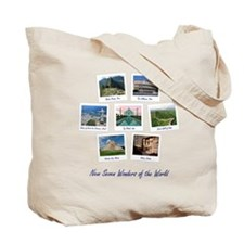 Seven Wonders World Tote Bag