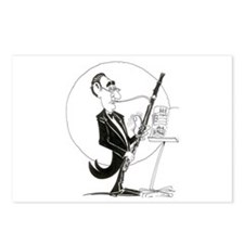 Lotsa Thumbs Bassoon Postcards (Package of 8)