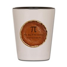 Pi(e) Day of the Century Shot Glass