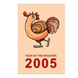 Rooster 2005 Postcards (8)