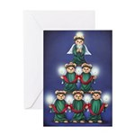 Teddy Tree Greeting Card
