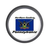 Northern Cambria Pennsylvania Wall Clock