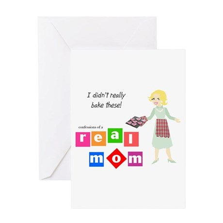 Confessions of a Real Mom I Greeting Card