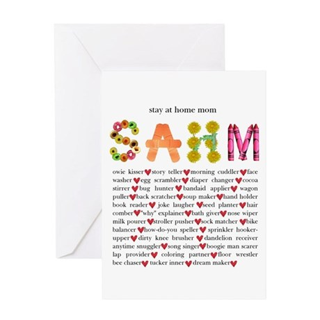 SAHM Greeting Card