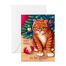 Too Late Greeting Card