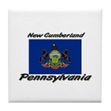 New Cumberland Pennsylvania Tile Coaster